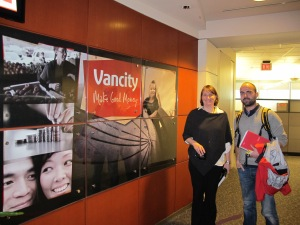 During our Meeting at Vancity Headquarters, Vancouver