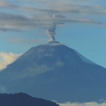 Sangay volcan Ecuador