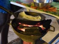 Tapioca avec coco et lait concentré - Maranhao